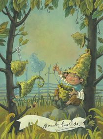 Hörbe mit dem großen Hut by Annette Swoboda