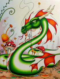 Gateway Dragon von Robert Ball