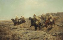 Arabian Warriors by Adolph Schreyer by Maria Hjerppe