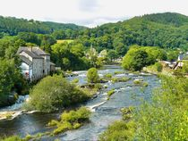 Llangollen in Wales by gscheffbuch