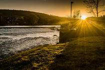 Late sun in Otley by Colin Metcalf
