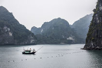 vietnamese fisherboat at halong bay von anando arnold