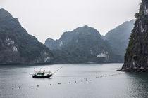 vietnamese fisherboat at halong bay von anando arnold