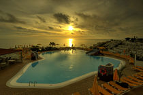 Sunset Pool  von Rob Hawkins