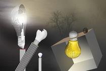 Thomas A. Edison erfindet die Glühbirne von Erich Krätschmer
