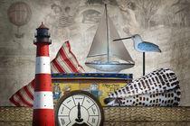 An der Nordseeküste von Erich Krätschmer