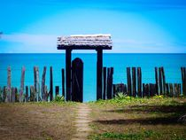 Open gates to the sea. by Ro Mokka
