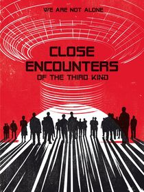 Close encounters of the third king movie inspired by Goldenplanet Prints