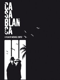 Casablanca classic movie inspired by Goldenplanet Prints