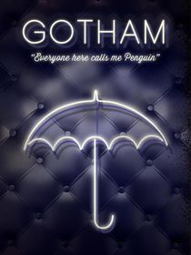 Gotham penguin club tv serie inspired von Goldenplanet Prints