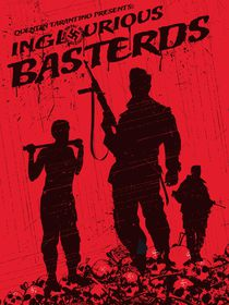 Inglorious basterds movie inspired von Goldenplanet Prints