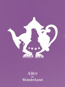 Alice in wonderland art movie inspired by Goldenplanet Prints