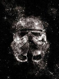 Galaxy stormtrooper digital art print von Goldenplanet Prints