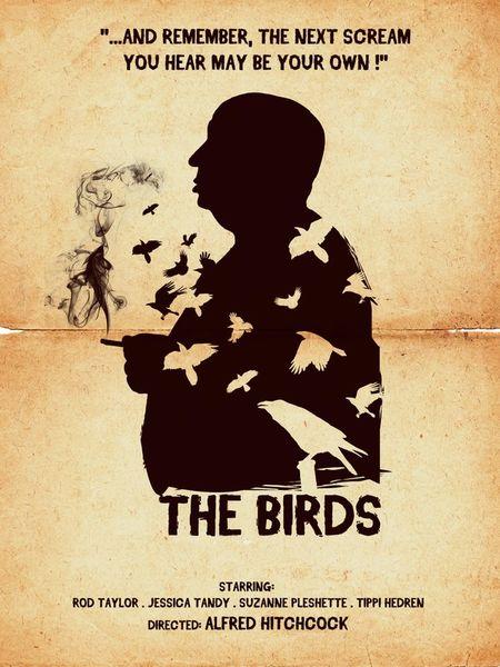 The birds movie poster