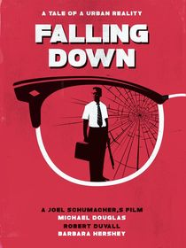 Falling down movie inspired art print by Goldenplanet Prints
