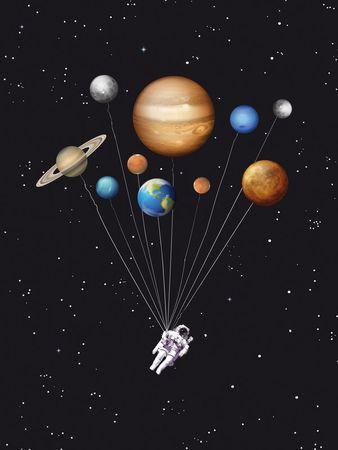 Astronaut-art