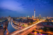 Berlin City Lights by Volker Handke