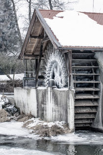Ice age - Iced mills von Chris Berger