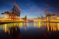 Containerterminal Hamburg by Britta Hilpert