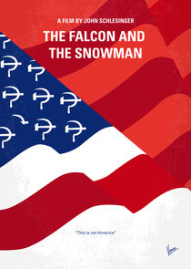 No749 My The Falcon and the Snowman minimal movie poster by chungkong
