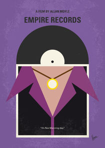 No750 My Empire Records minimal movie poster von chungkong