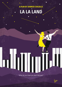 No756 My La La Land minimal movie poster by chungkong
