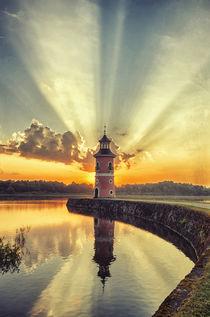 Leuchtturm Moritzburg von Mario Gast