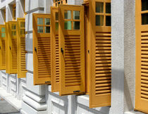 Singapore Shutters by Philip Shone