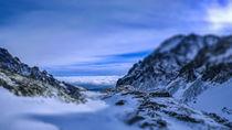 Zbojnícka chata. Great Cold Valley. Velká Studená dolina. High Tatras von Tomas Gregor