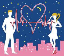 Saint Valentine Heartbeat by maxal-tamor