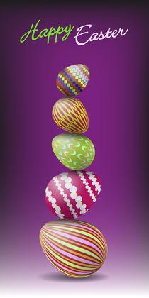 Pile of Easter eggs von maxal-tamor