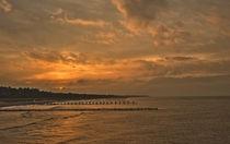 Sonnenuntergang in Zingst von Andrea Potratz