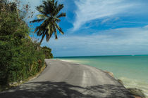 coastal road on Praslin island - Seychelles by stephiii