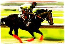 Speed Galopper Painting von Sandra  Vollmann