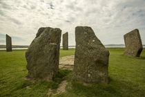 Standing Stones of Stenness by Andrea Potratz