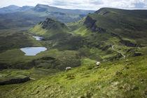 Quiraing-Massiv / Isle of Skye by Andrea Potratz