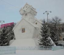 snowy house by Natalia Akimova