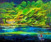 Waldsee by Eberhard Schmidt-Dranske