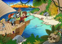 Piraten auf Schatzsuche by Miguel Fernando Egaña Silva