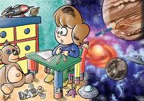 Der Traum von der Raumfahrt by Miguel Fernando Egaña Silva