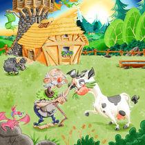 Opa und seine geliebte Kuh von Miguel Fernando Egaña Silva