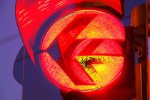 Red Traffic Light I Rote Ampel von Torsten Krüger