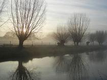 Nebel am Niederrhein II von Frank  Kimpfel