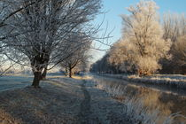 Winter an der Niers by Frank  Kimpfel