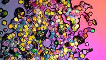 Bunte Lysozym-Kristalle von fakk