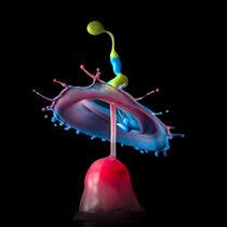 Wassertropfen - Farben Hut von Stephan Geist