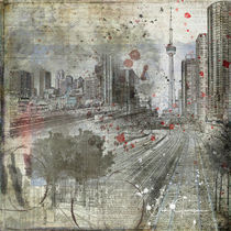Spattered Skyline von Nicky Jameson