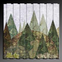 Wald abstrakt in 3D by Chris Berger