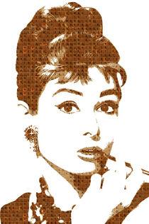Scrabble Audrey Hepburn by Gary Hogben