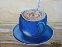 Der Kaffee ist fertieg  by rita-markgraefe